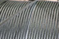 Residential Zinc Coated Steel Wire Strand / Class A Guy Strand Wire 1 4 Inch , 7 X 2.03mm