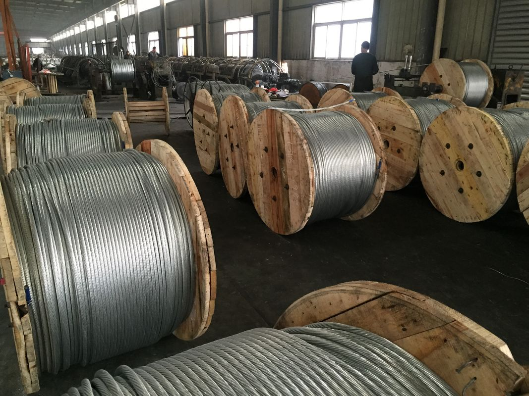 "7/16""(1*7)Zinc-coated Steel Wire Strand for guy wire as per ASTM A 475 with packing 5000ft/drum"
