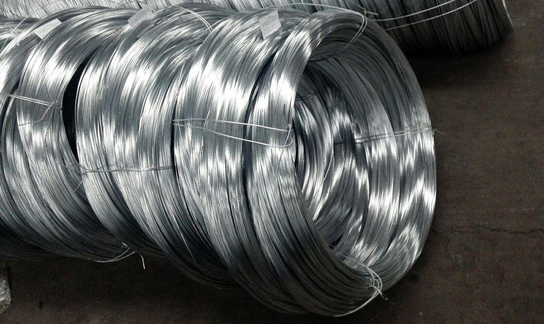 Heavy Zinc Coating Spring Galvanized Steel Wire 1.0-5.0mm Main Single For Stranded Conductors