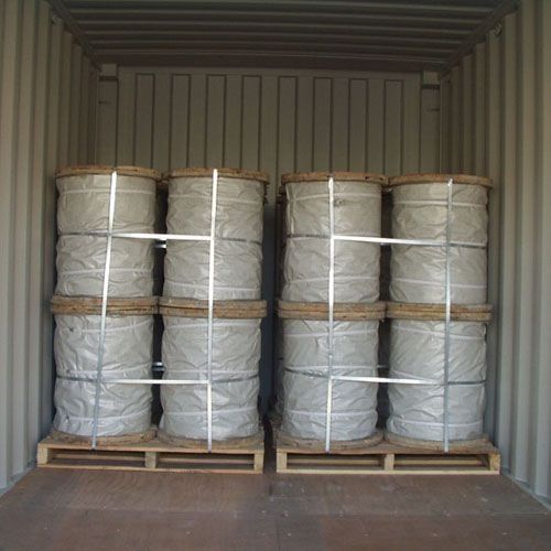 Middle And High Carbon Galvanized Steel Rope  , Non - Alloy Bridge Strand Guy Wire